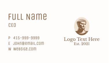 Ancient Roman Emperor  Business Card