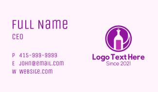 Wine Cellar Business Business Card