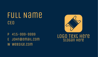 Ticket App Business Card