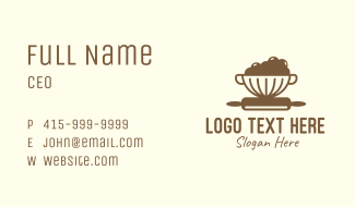 Baking Supply Store Business Card