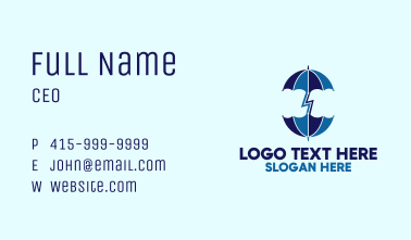 Two Umbrella Business Card