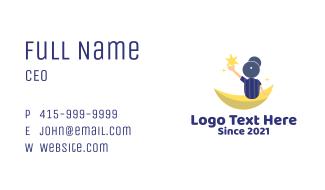 Preschool Boy Stars Business Card