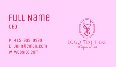 Deluxe Wine Bar  Business Card