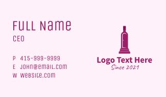 Purple Bottle Door Business Card