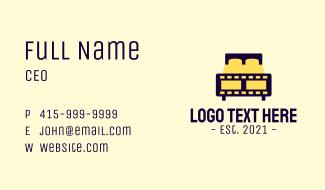 Bed Film  Studio Business Card