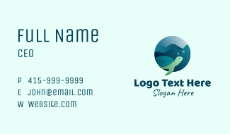 Sea Turtle Conservation Business Card