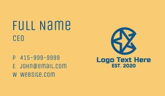 Blue Star Business Business Card