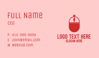 Online Tray Business Card