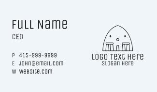 Stonehenge Stone Monument Business Card