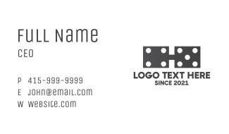 Dominoe Glasses Business Card