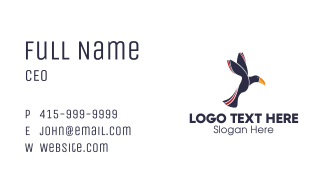 Flying Toucan Business Card