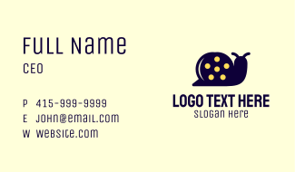 Snail Film Business Card
