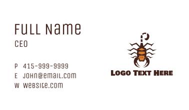 Scorpion King Business Card