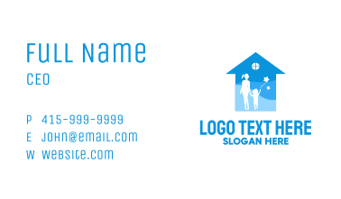 Blue Parenting Counsel Business Card