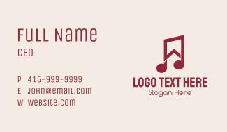 Music Studio House Business Card