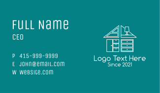 House Furniture Store Business Card