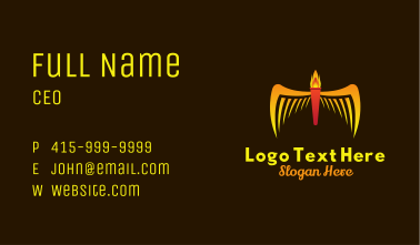Phoenix Torch Business Card