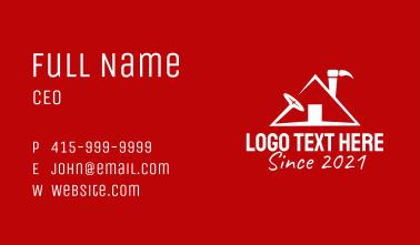 Residential Home Repair  Business Card