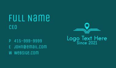 Blue Dental Navigation  Business Card