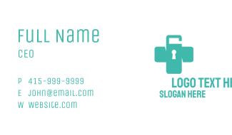 Unlocked Medical Cross Business Card