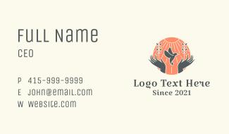 Dove Welfare Charity Business Card