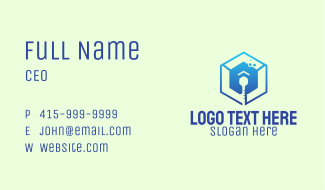 Temperature Thermometer Business Card