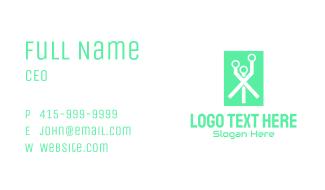 Green Digital Network Business Card