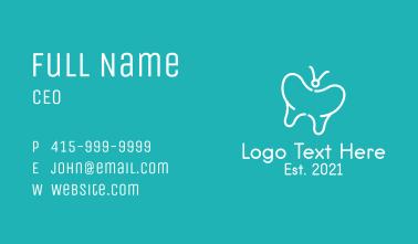 Butterfly Dental Clinic  Business Card