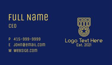Star Medal Award  Business Card