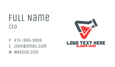 Lab Check Business Card