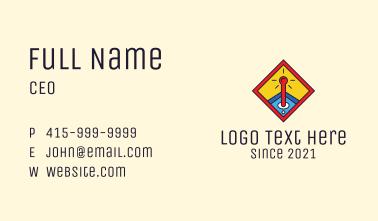 Joystick Game Controller  Business Card