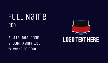 Dynamite Television Business Card