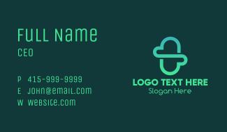 Minimalist Cloud Capsule Business Card