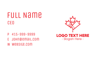 Maple Tickets Business Card