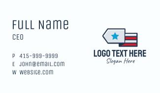 Star Flag Business Card