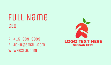 Healthy Fruit Grower Business Card