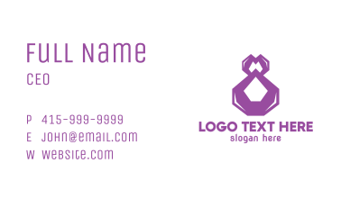 Number 8 Jewelry  Business Card