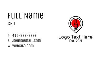 Booze Location Business Card