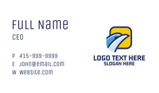 Bird Travel Agency  Business Card