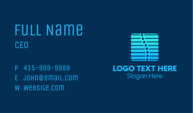 Spine Care Business Card