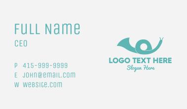 Snail Speaker Business Card