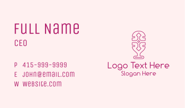 Cross Podcast Outline Business Card