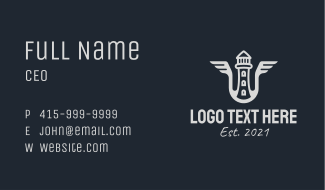 Watchtower Wings Business Card