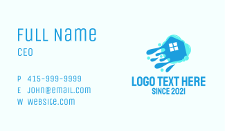 House Wash Cleaning  Business Card