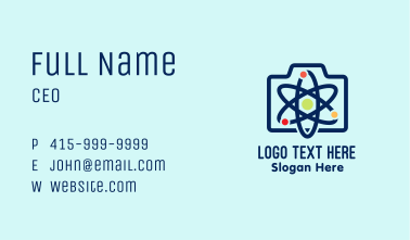 Atomic Briefcase Business Card