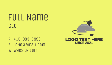 Computer Mouse Online  Business Card