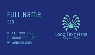 Seashell Golf Club Business Card