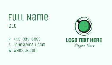 Green Tea Time Business Card