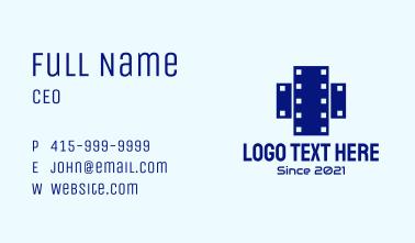 Cross Film Strip Business Card