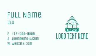 Green Furniture House Business Card